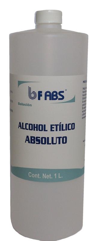 Alcohol etilico absoluto